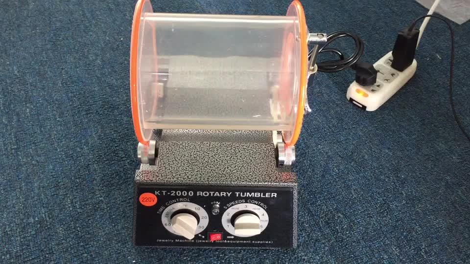 La fabricación de la joyería de 5kg de capacidad de pulido de plata máquina Tumbler máquina de pulido