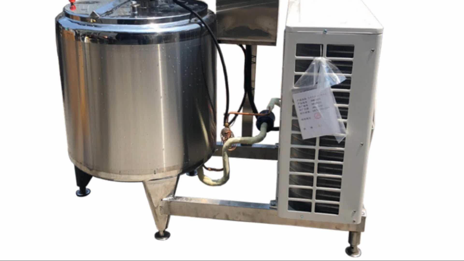 Sıhhi paslanmaz çelik bal tankı kullanılan süt soğutma tankı için satış