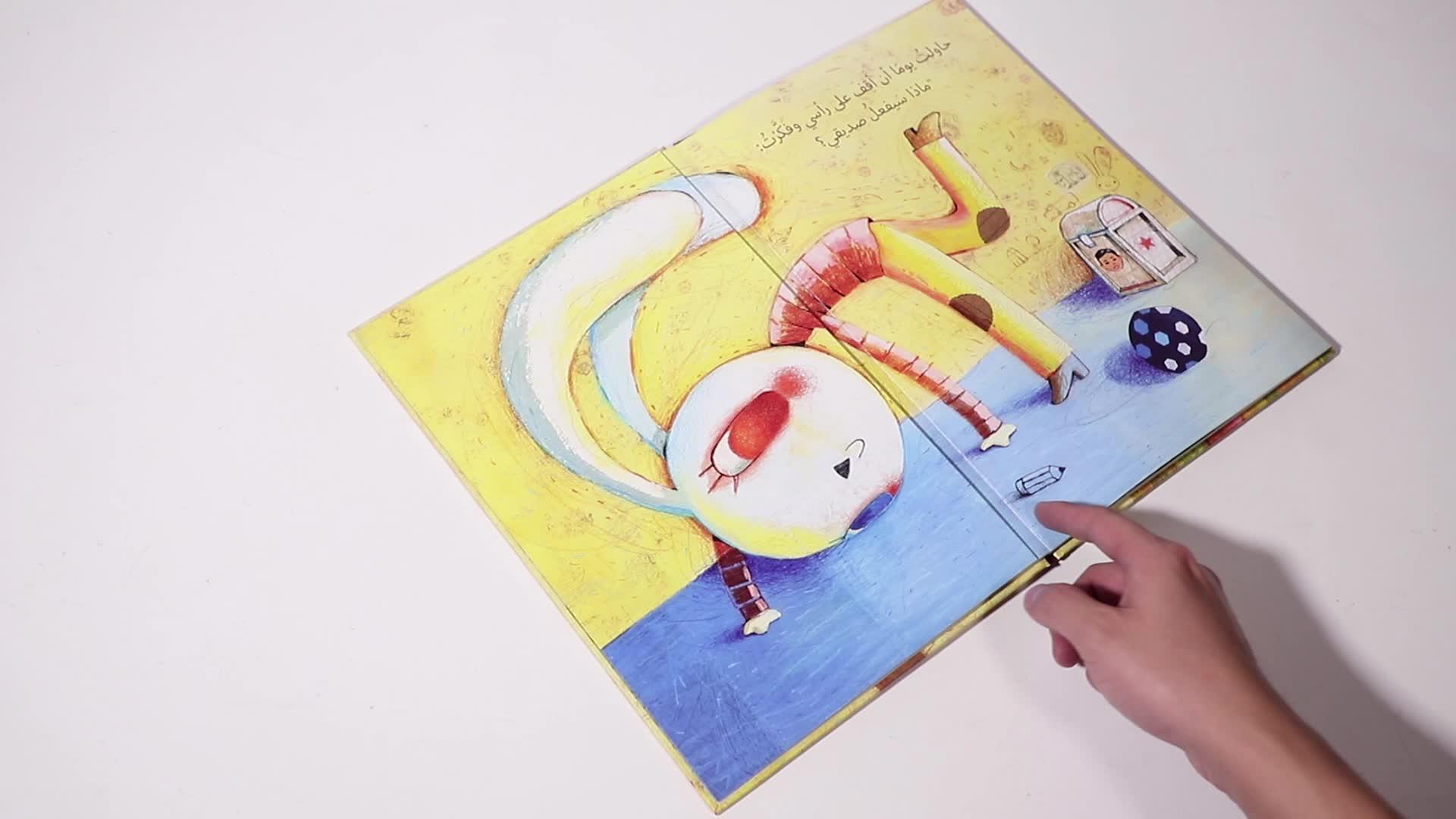 Custom activity children fairy tales english learning short story kids book