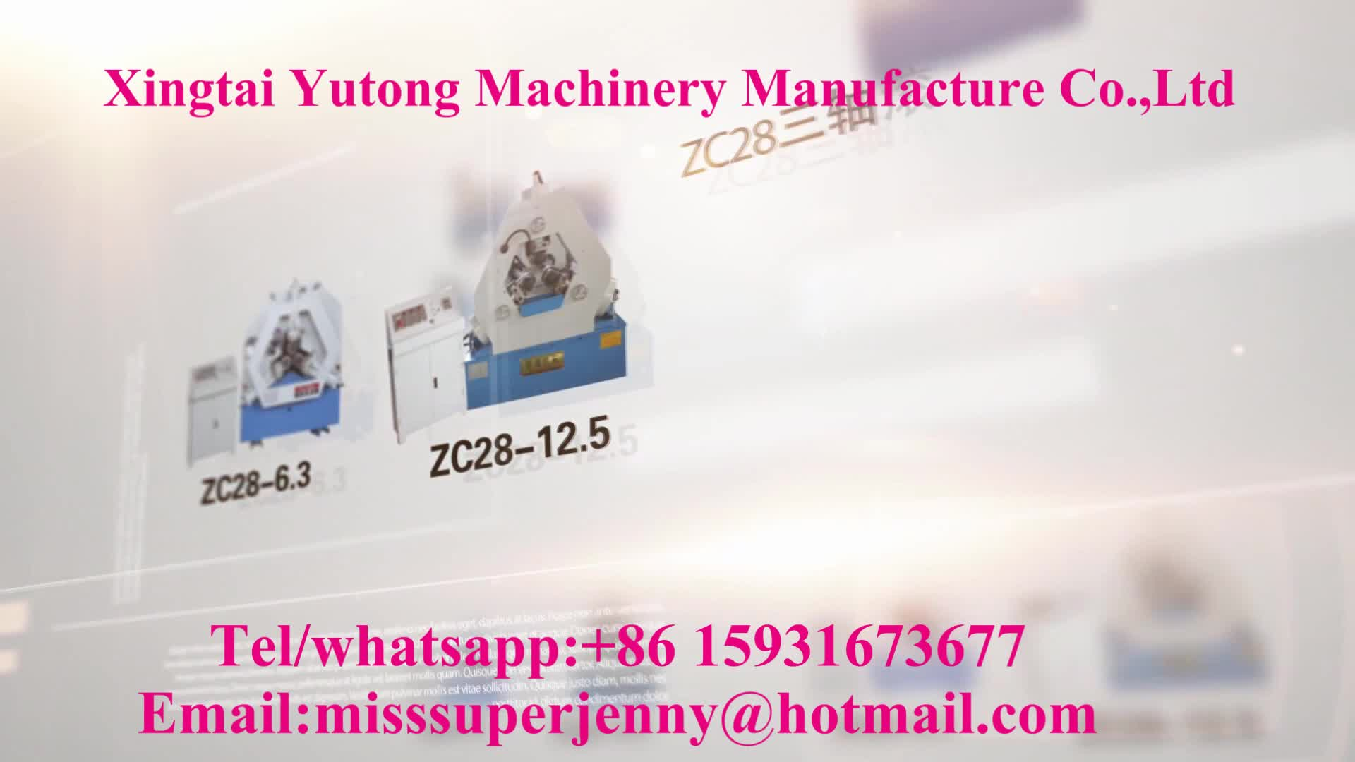 Three-axis thread rolling machine automatic CNC hydraulic thread rolling machine pipe thread processing factory direct sales