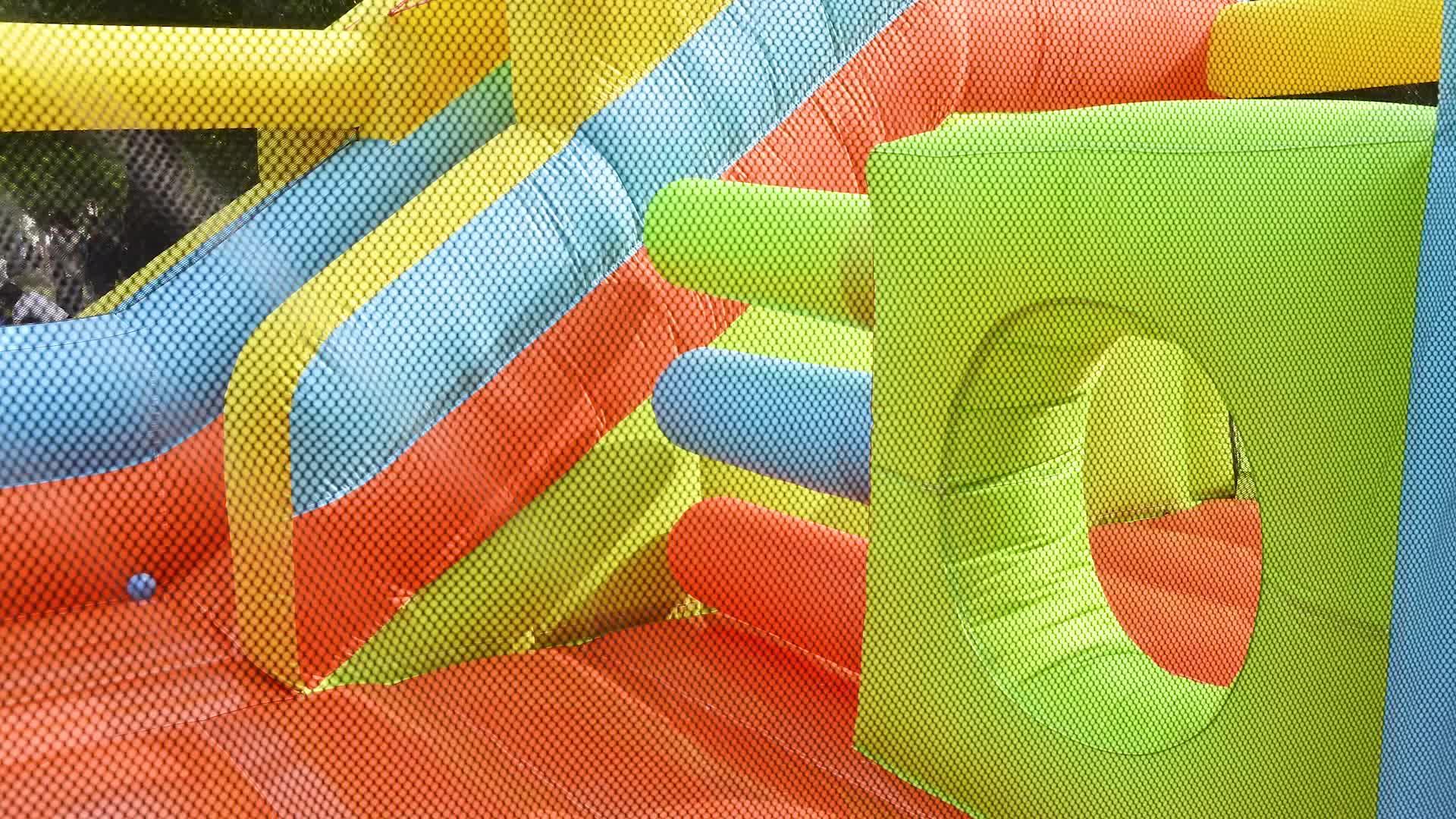 Hot Selling Opblaasbare Jumper Grote Opblaasbare Glijbaan Opblaasbaar Zwembad Glijbaan Voor Ingegraven Zwembad