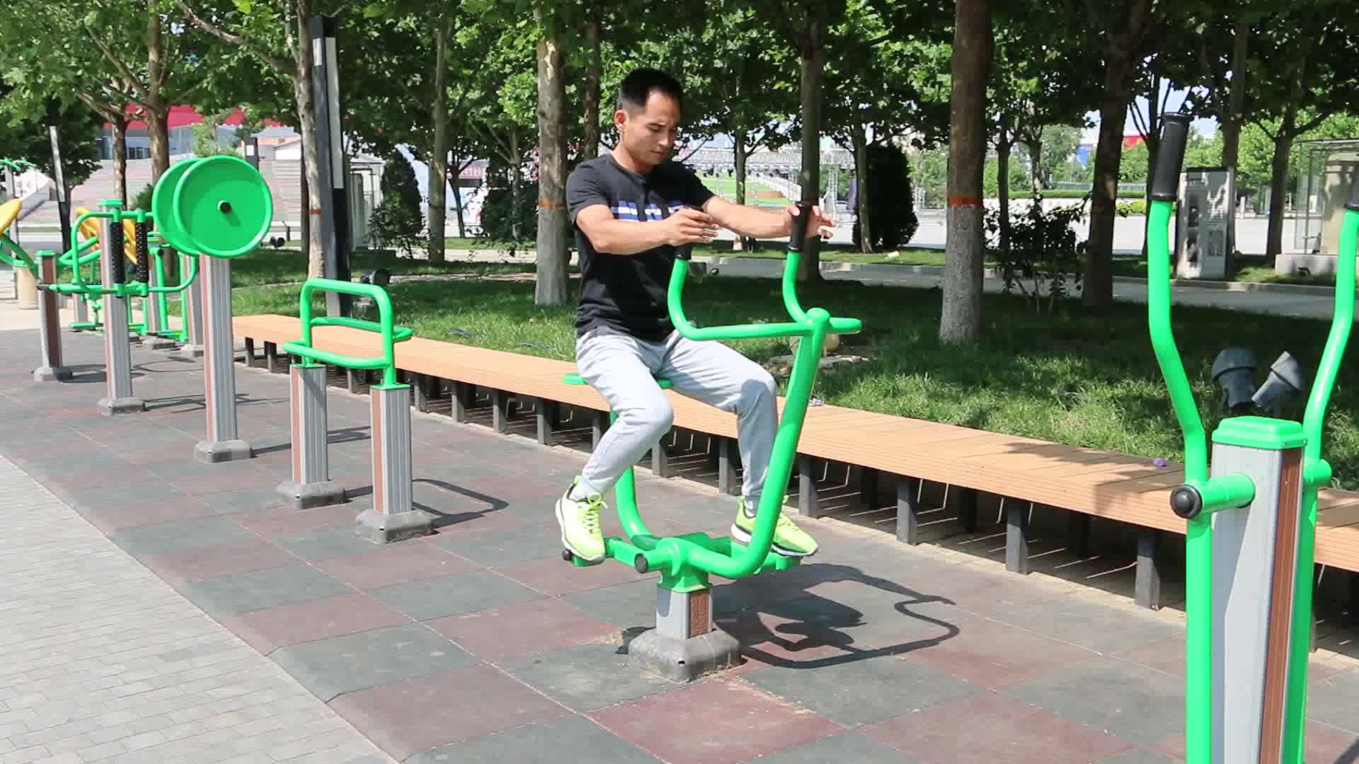 Equipamento de treino de rua Equipamento de Fitness ao ar livre para venda
