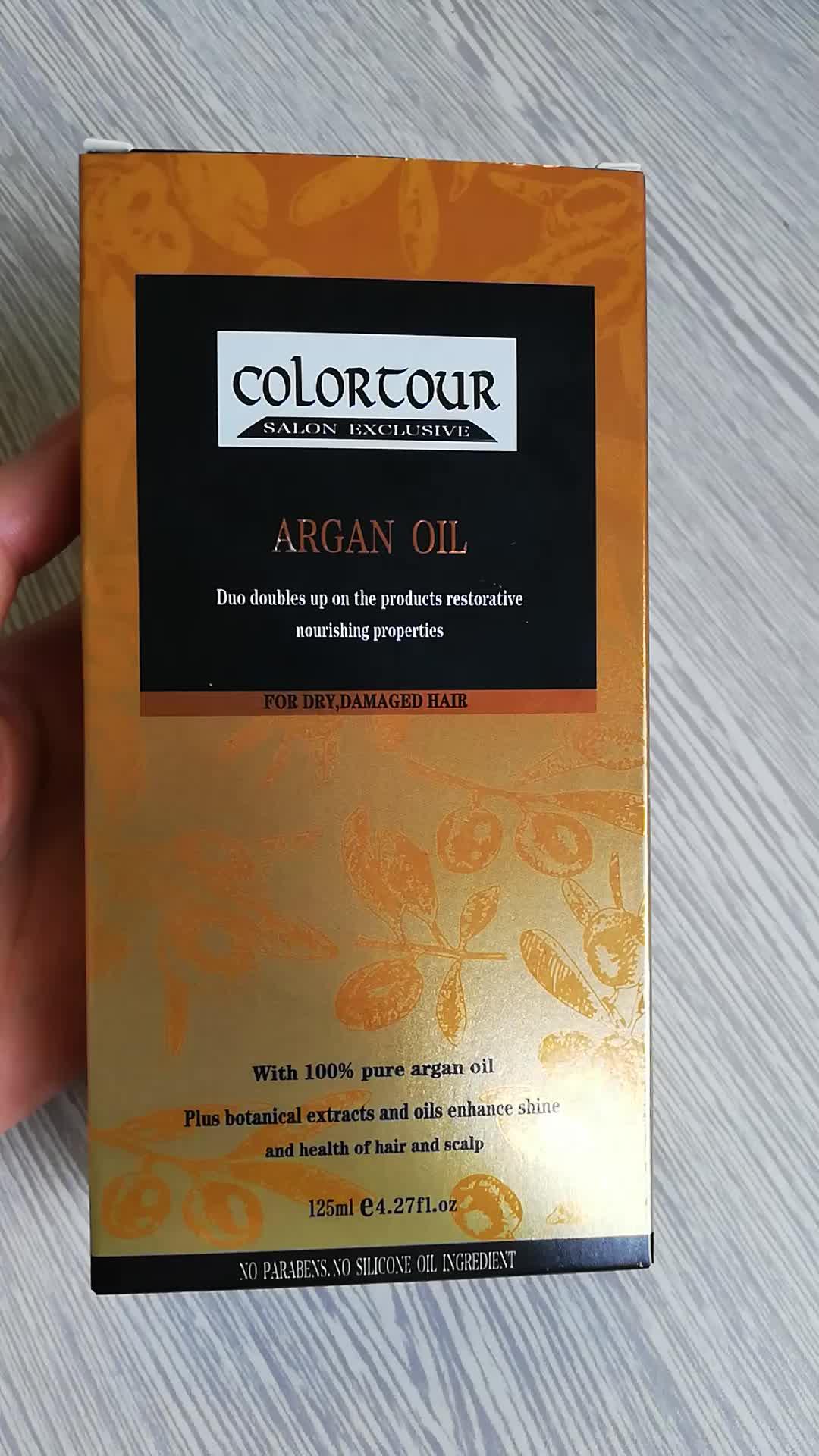 COLORTOUR 100 ml Reinem arganöl für Haar Pflege Kosmetische Öl haar extensions