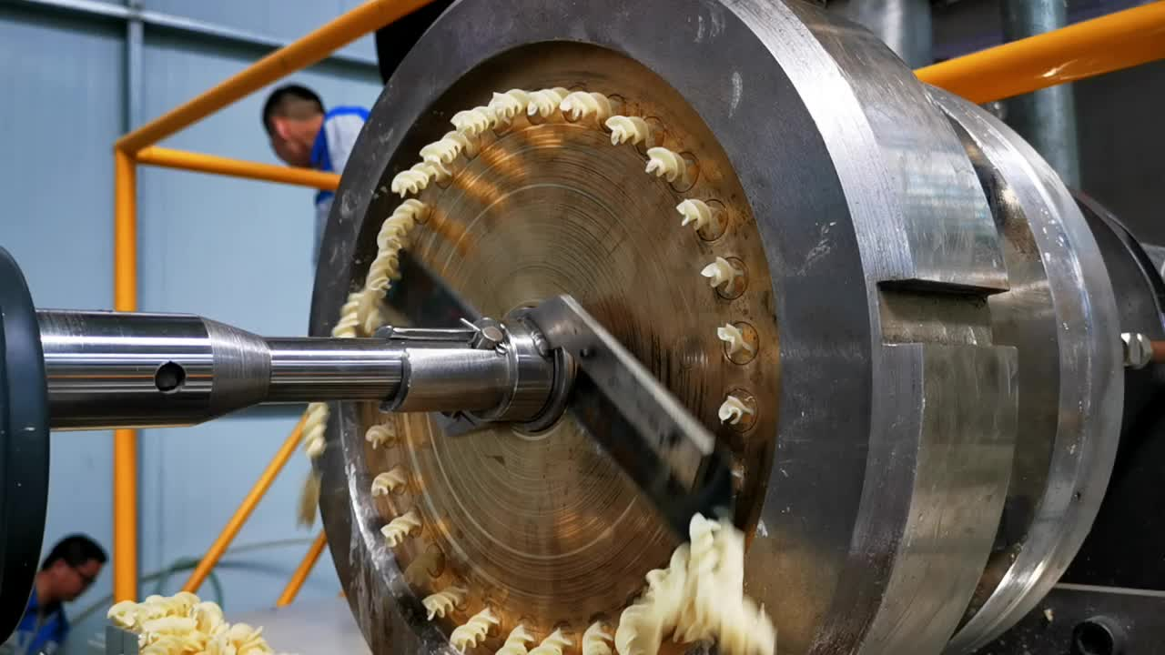 large-scale macaroni and pasta machinery processing line