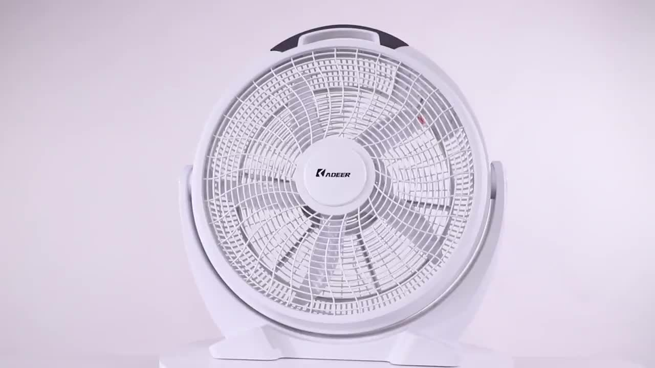 20 Inch Plastic Turbo Box Fan