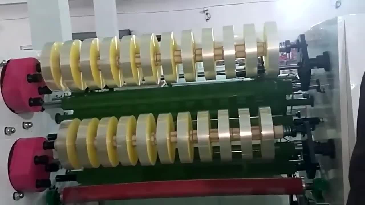 7d486e339830 Automatic bopp scotch adhesive tape slitting rewinding machine tape slitter  rewinder
