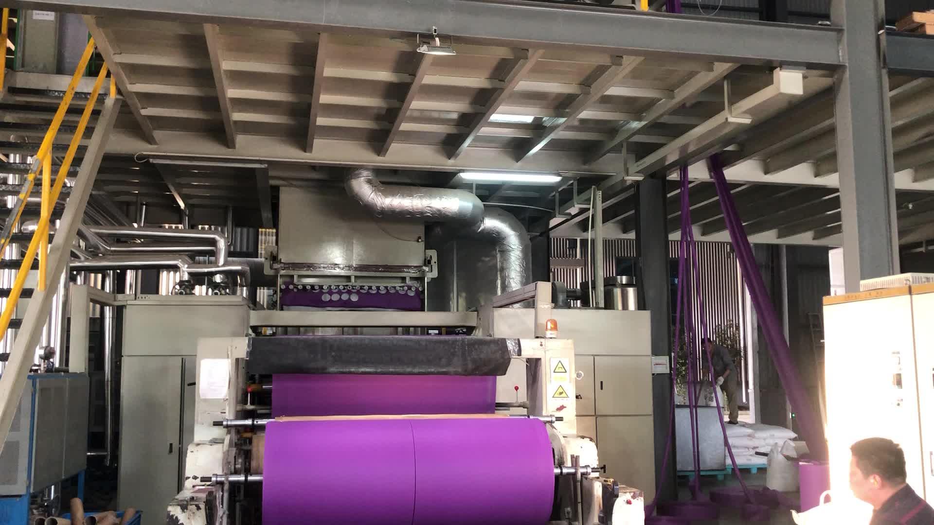 Kopen stof direct uit fabriek materiaal 100% polypropyleen spunbonded reliëf non geweven stof