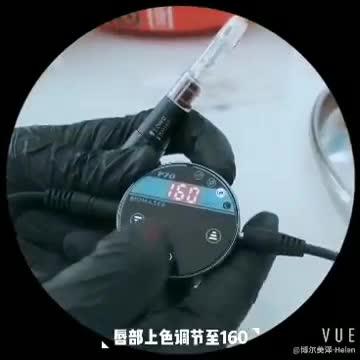 Biomaser Kalıcı Kaş Makyaj Vücut Dövme Döner Kalem Güzellik Makinesi