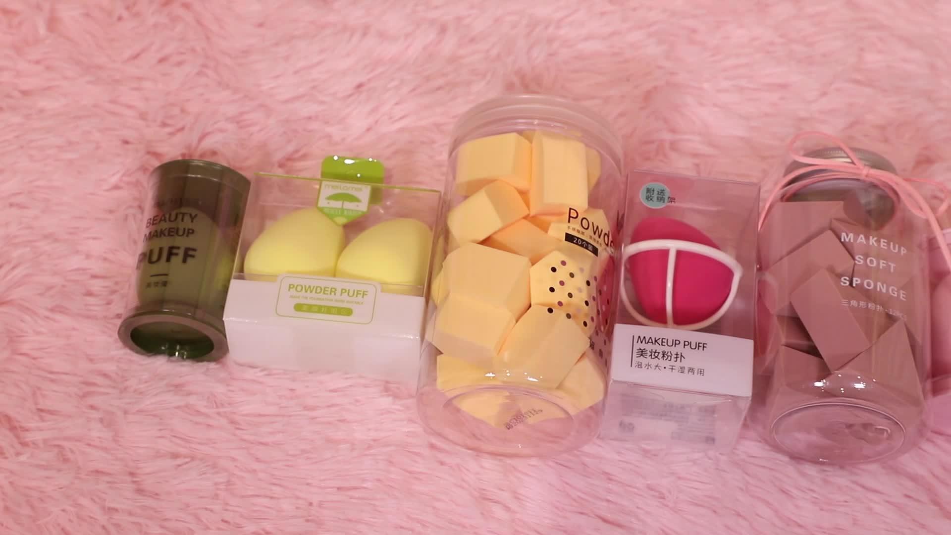 Free shipping tear drop shape beauty makeup sponge wholesale sponge make up