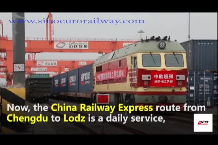 Transporte de carga tren Ningbo de china Guangzhou Shenzhen Shanghai a Aberdeen Irlanda Cork, Dublín, Belfast