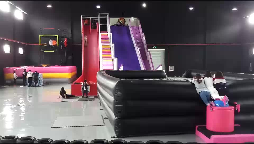 Indoor playground soft trampoline park commercial