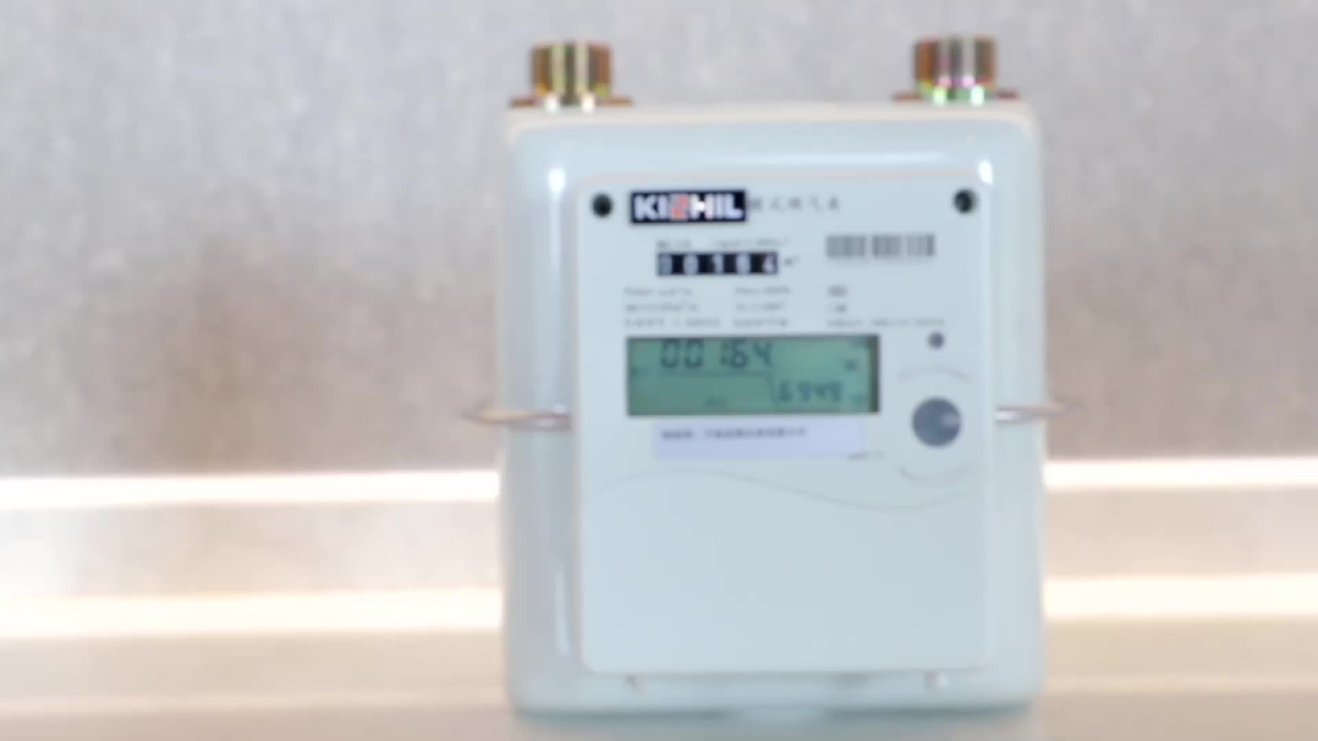 WIRELESS GAS METER WRGM