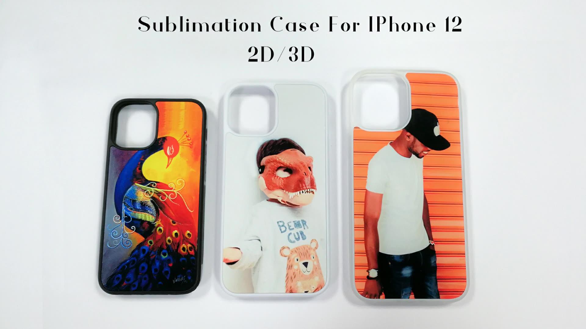 Molde Sublimation für iphone 12 Pro Fall Rohlinge Telefon Fall
