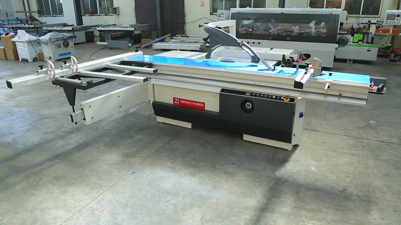 Altendorf type ZD400T sliding table saw woodworking machine for veneers
