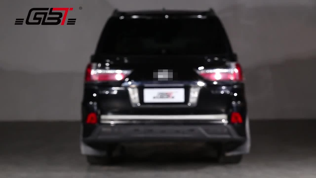 GBT SPORT SMALL BODY KIT FRONT&REAR BUMPER SPOILER AND AIR-INLET GRILLE FOG LAMP CASE FROM GBT MANUFACTURER FOR LX570 LEXUS 570