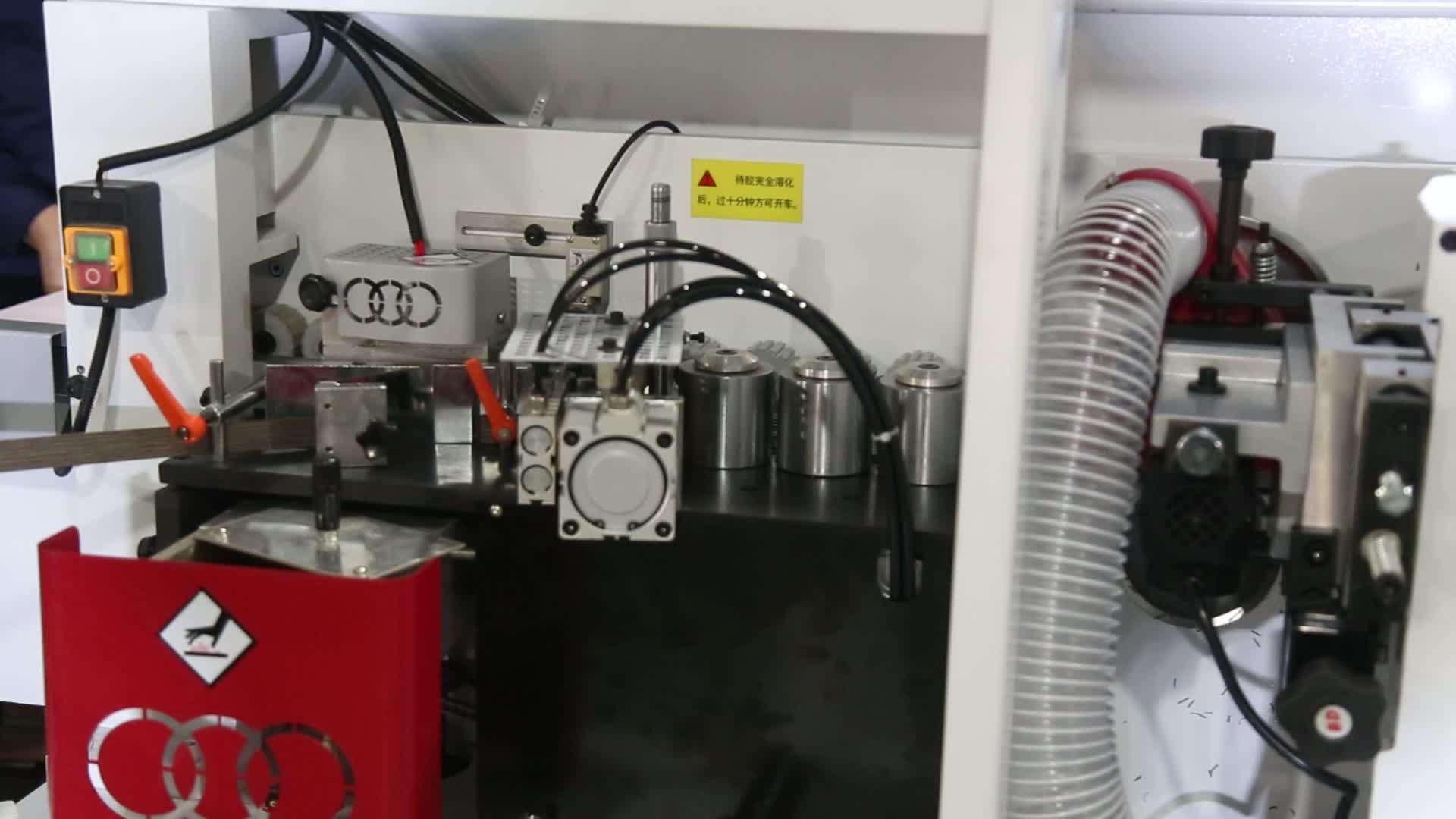 Houtbewerking machines semi-automatische PVC/MDF kantenverlijmer