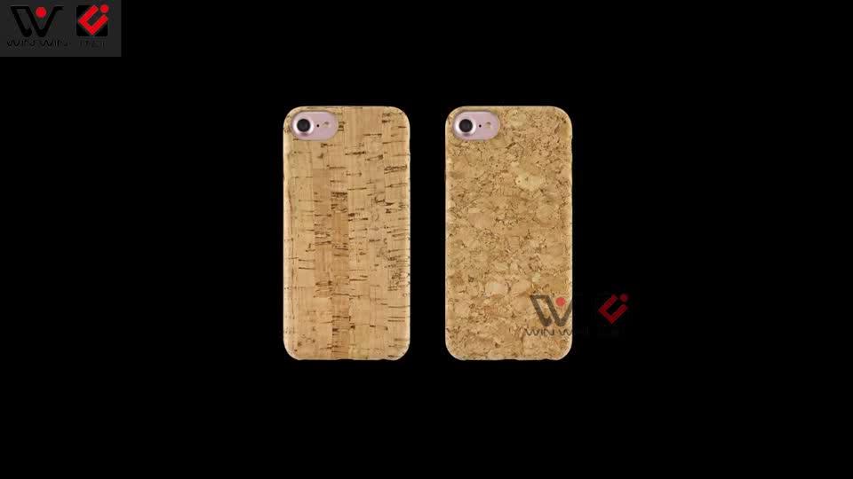 환경 코르크 나무 Shockproof Mobile Phone 건 Unique Design Personalized 코르크 나무 Cover 대 한 iPhone X