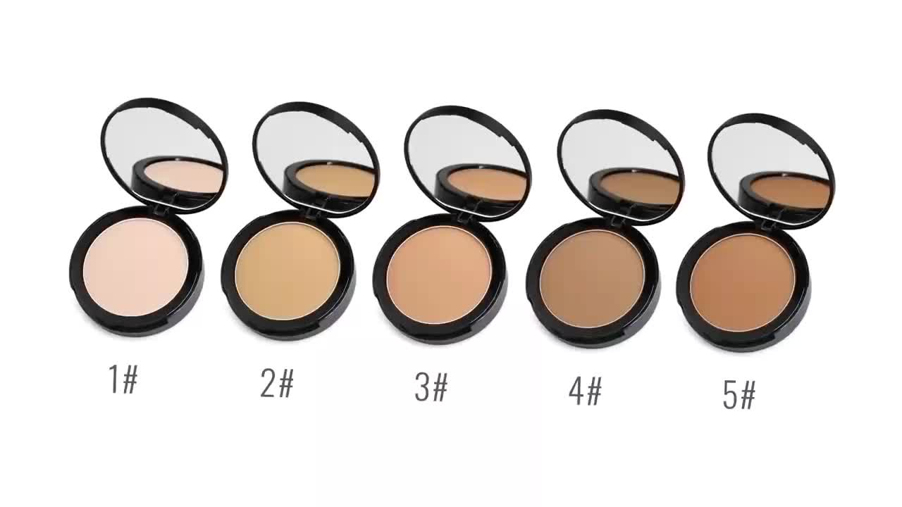 Custom packing pressed foundation setting powder private label makeup powder face powder