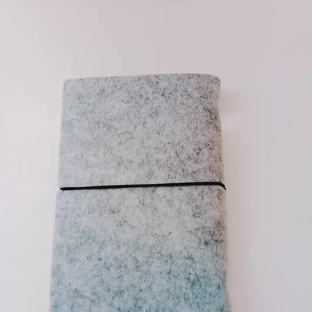 New hot sale fancy wholesale felt cover a5 notebook made in China