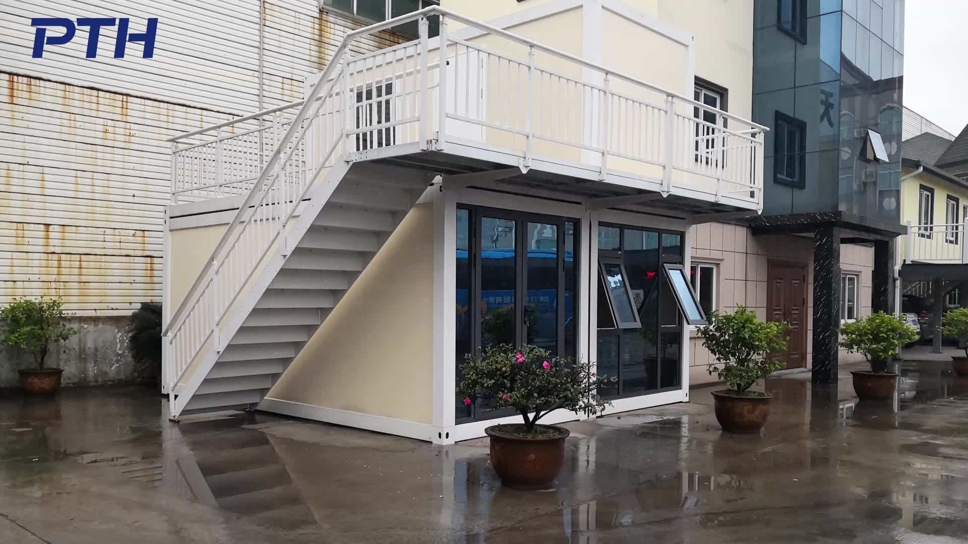 Prefabricated easy to install modular container house for camp