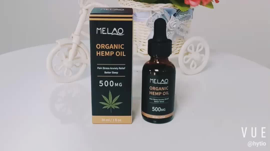 2019 New Products Customized Best For Pain Anxiety & Stress Relief Cold Pressed Hemp Oil Organic Bulk For Dogs