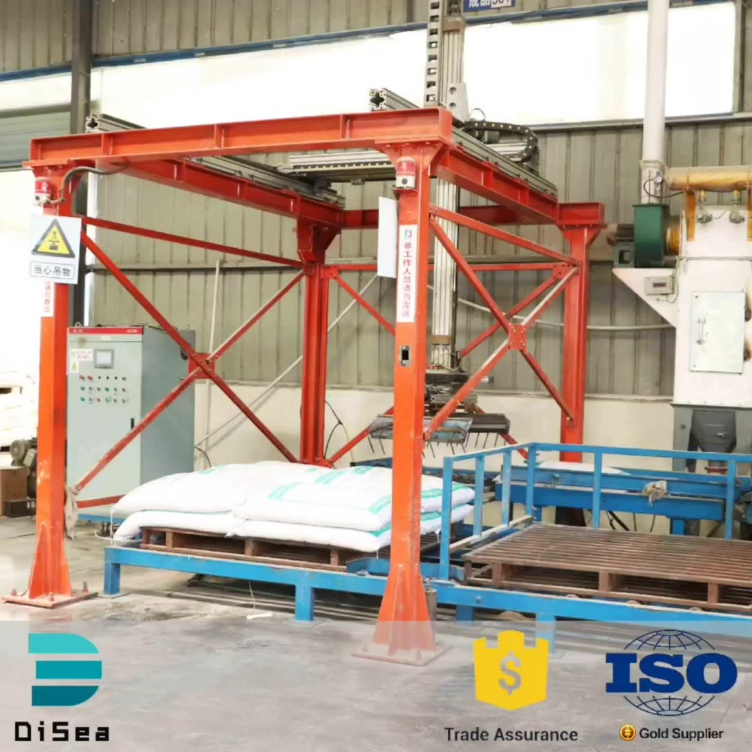 Automatic packing bag Palletizer system Machine/packaging palletizer machine/feed processing machine