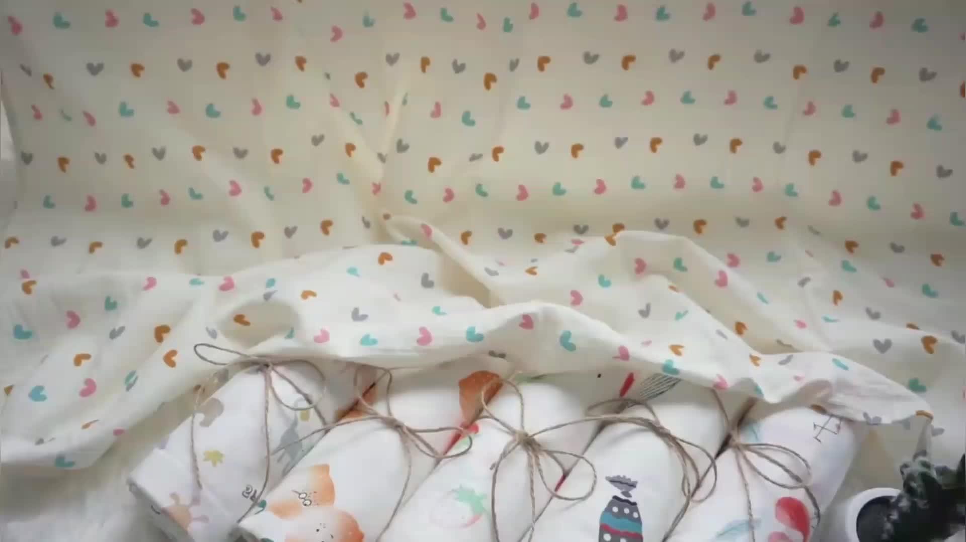 Phong Cách Hiện Đại Cotton Hữu Cơ Muslin Baby Swaddle Bọc Tùy Chỉnh Bé Chăn In Ấn