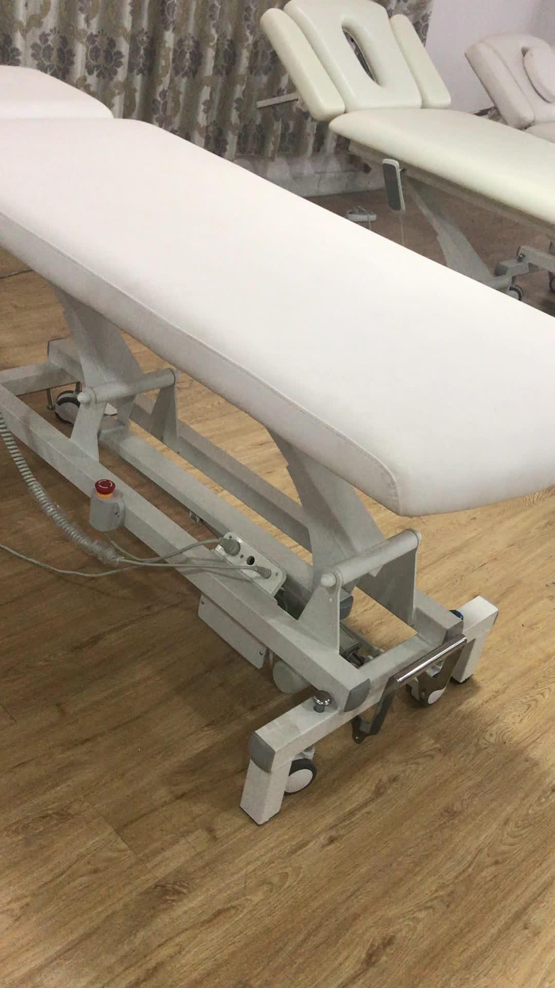 Фошань дешевый Электрический контроль салон красоты массажный стол для лица кровать