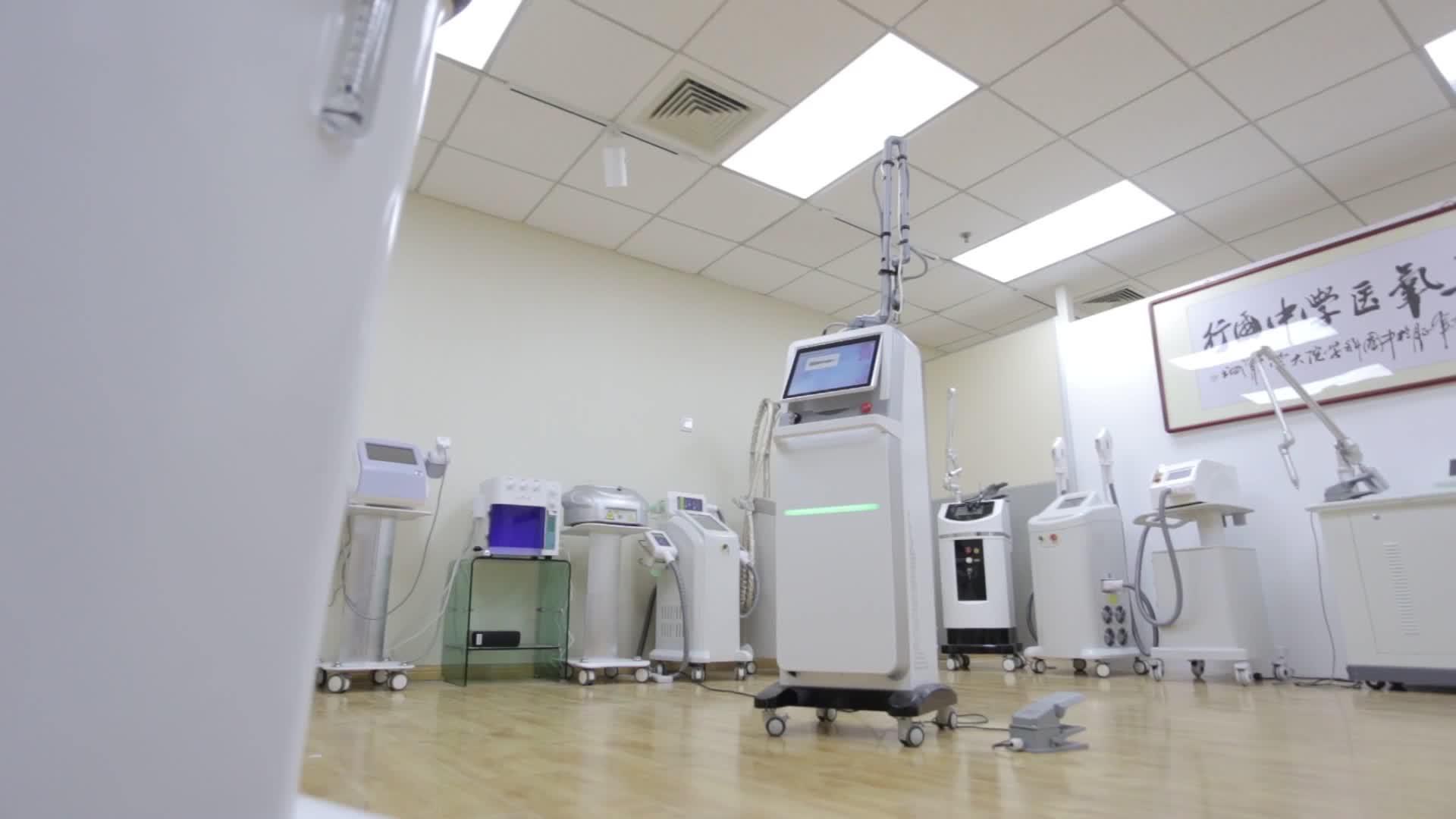 FDA/CE Medico Co2 Laser Frazionale Acne Rimozione della Cicatrice/Della Vagina di Serraggio Laser Attrezzature di Bellezza prezzo