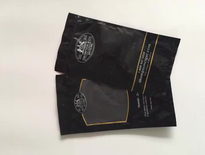 Popular 3-month effective moisturizing cigarette bag bone sealing bag for cigar packaging