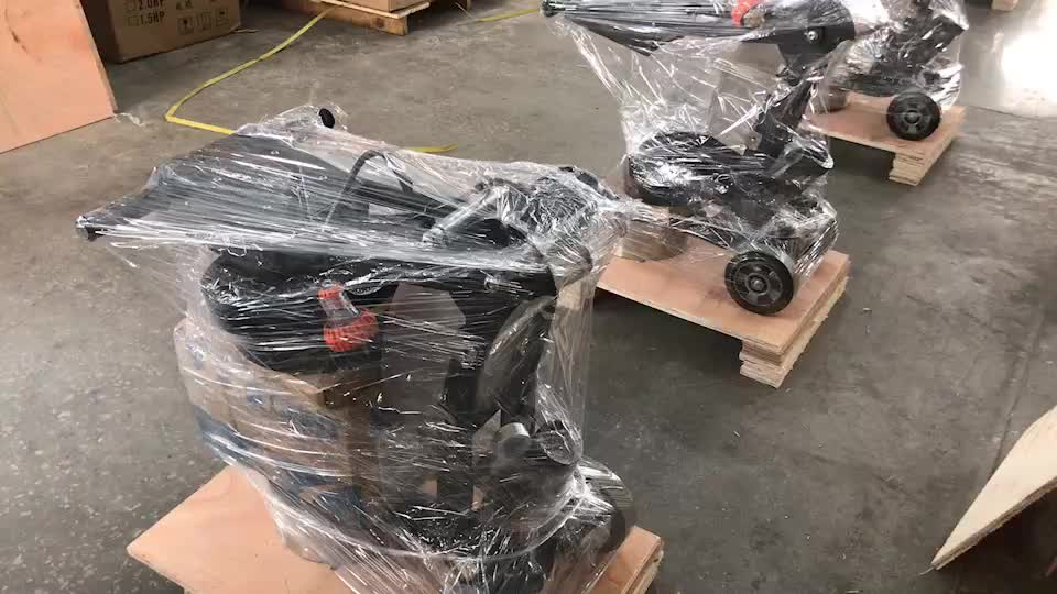 HTG-250VS Mini Oberfläche Schleifen Maschine Von Beton Rand Mühle Mit Niedrigem Preis