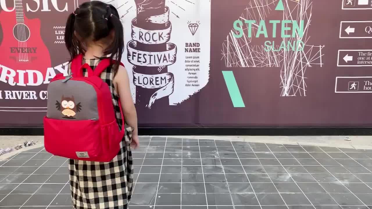 Großhandel kinder cartoon rucksack tasche tier schule rucksack für mädchen