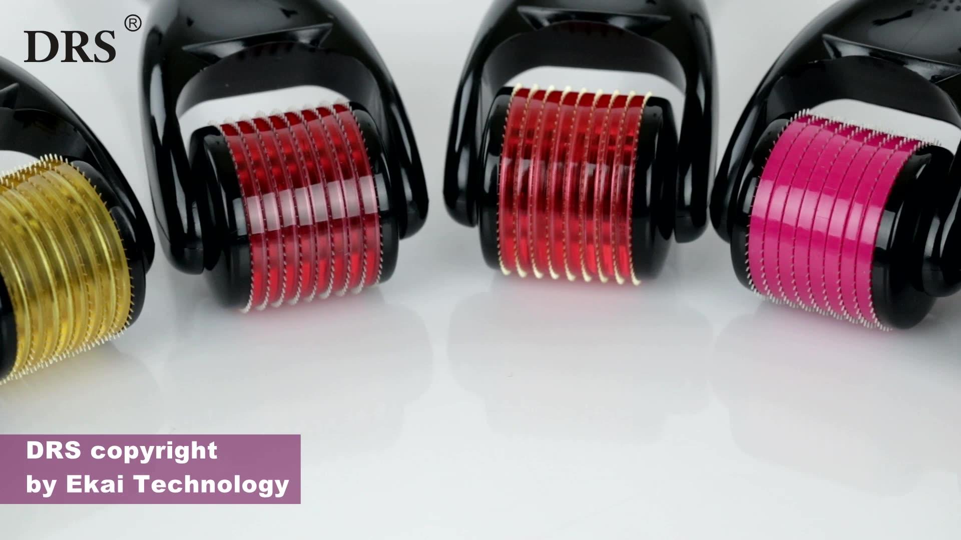 전문 티타늄 Microneedling Derma 롤러 540 스킨 간호 전체 크기 0.2- 3mm 광주 제조업체