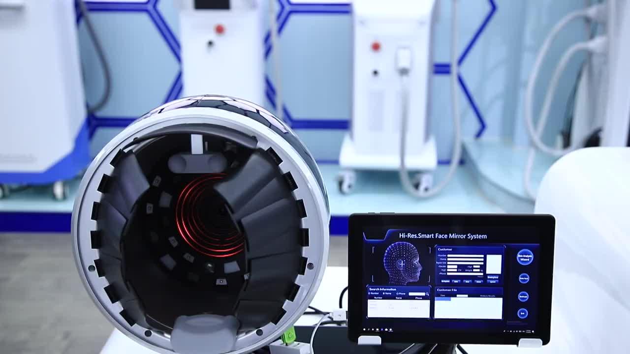 Âmbito da pele Analisador de UM Sistema-Uma Máquina de Análise de Pele Visia Para Venda