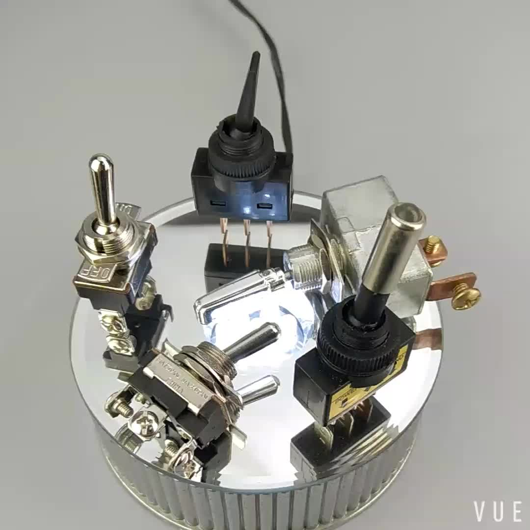 ASW-23-101A 15A SPST 2Pin ON-OFF 120V Toggle Switches For Cars