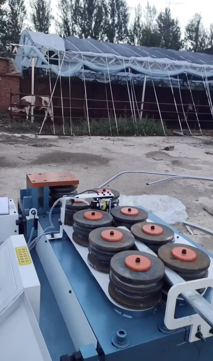 Efficiency Quality CE& ISO Downspout Pipe Bending Arch Curving Elbow Making Machine