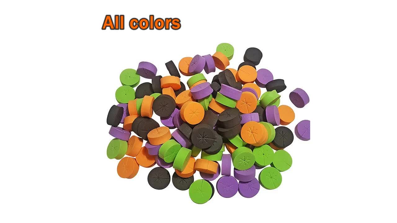 Multi color hydroponic seedling sponge foam Inserts/cloning collar for Net Pots and Cloning Machines