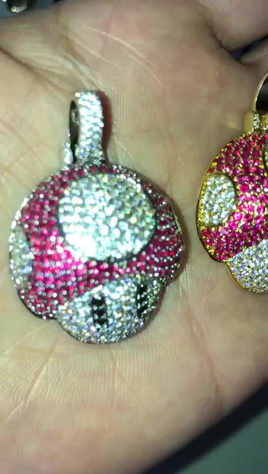 Newest Unique Design Cz Iced Out Custom Hip Hop Jewelry ...