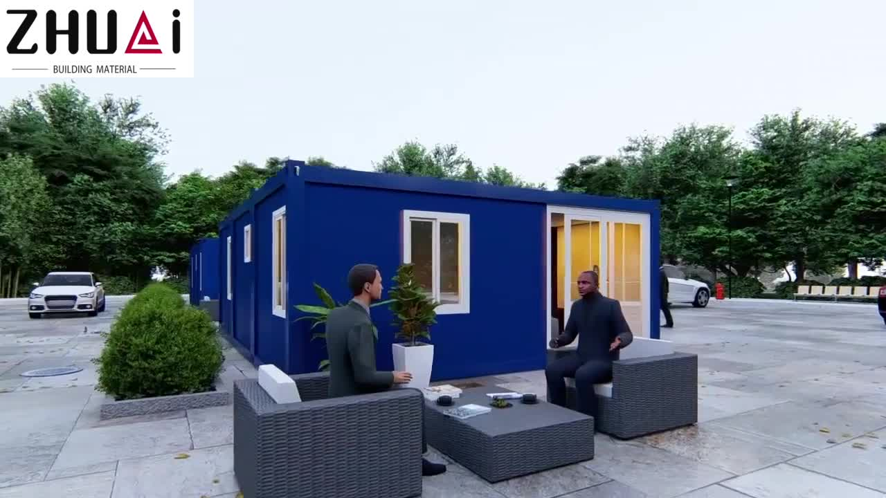 20ft 40ft Geändert Marine Container Haus Tragbare Haus Container Wc Büro Hotel