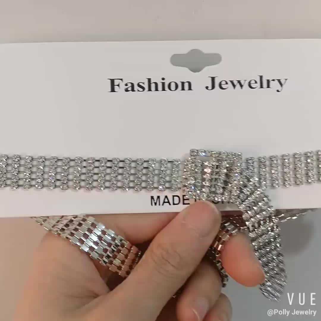 2019 Necklace Jewelry Fashion Lady Chocker Necklace