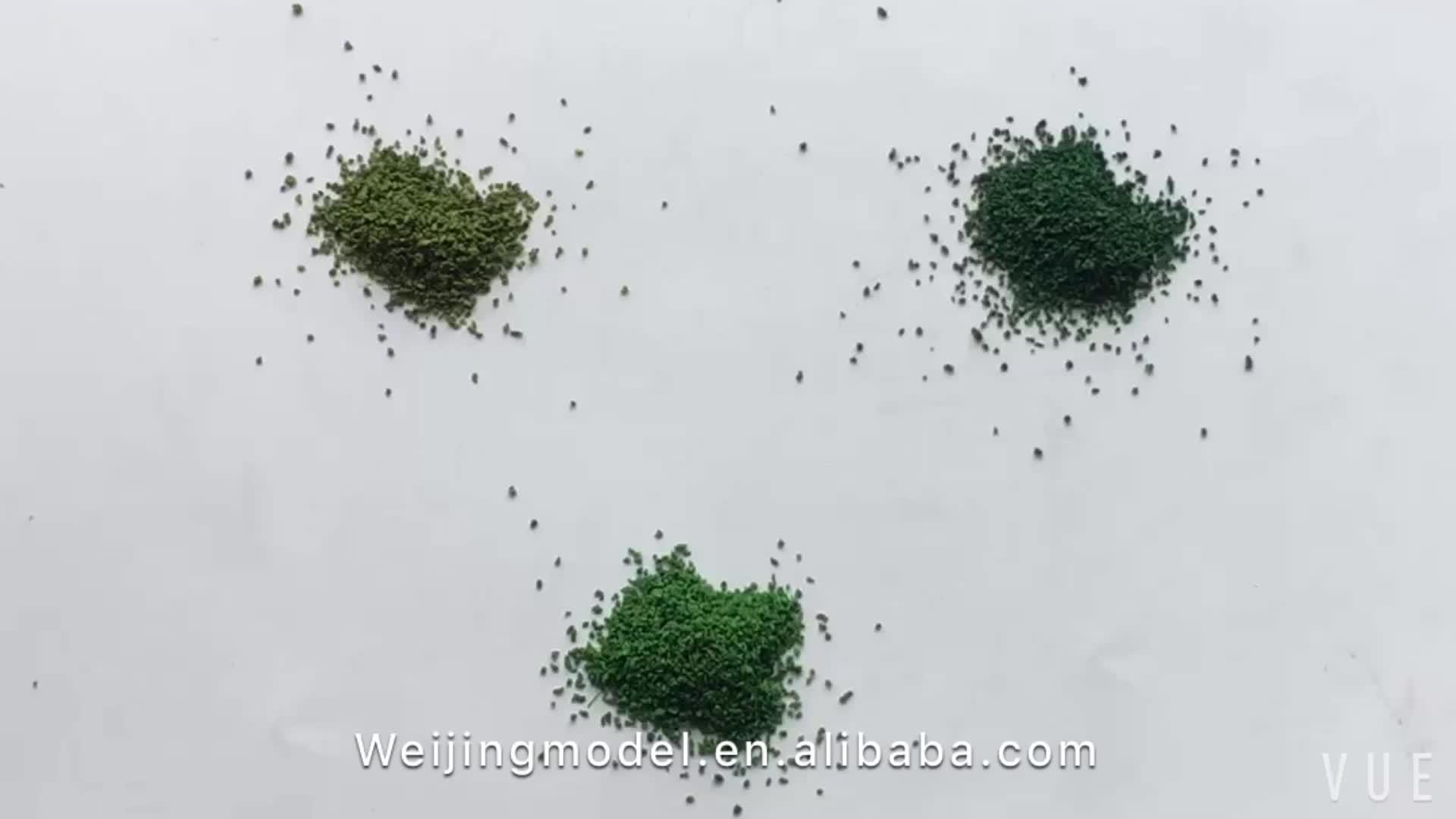 Архитектура Трава Земля крышка трава смесь для HO поезд макет