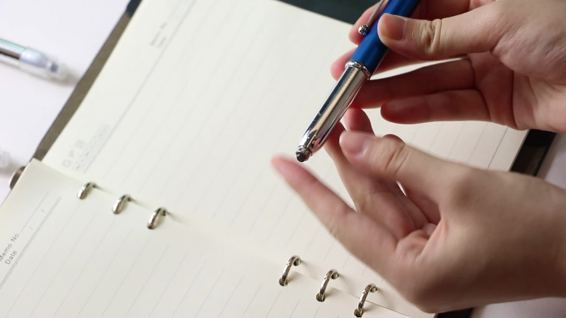 Promotional Plastic Multifunction Touch Screen Stylus Light Up Pen