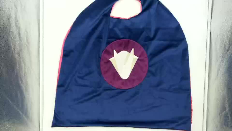 hot sale China factory fashion cosplay Halloween superhero capes for kids