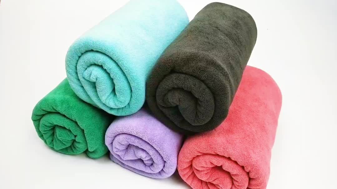China suppliers Super soft Microfiber quick drying bath towel
