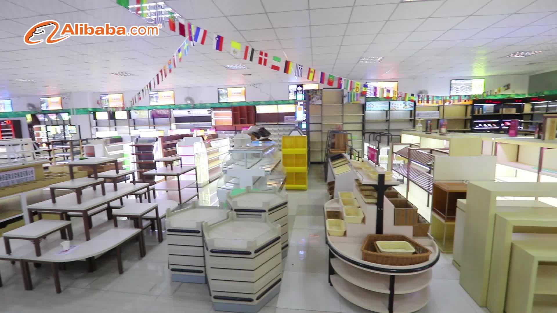 מודרני חנות נוחות חנות מרקחת מדף האם וילד מפואר תצוגת חנות