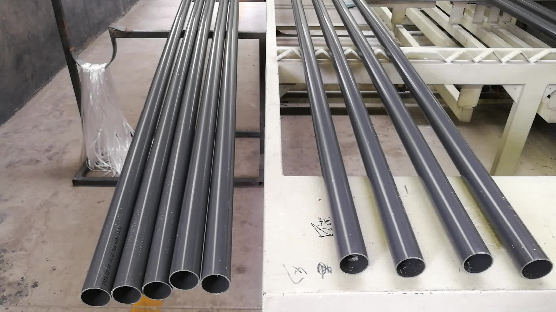 Dn75,DN90 Lowest price pvc water pipe upvc pipe list