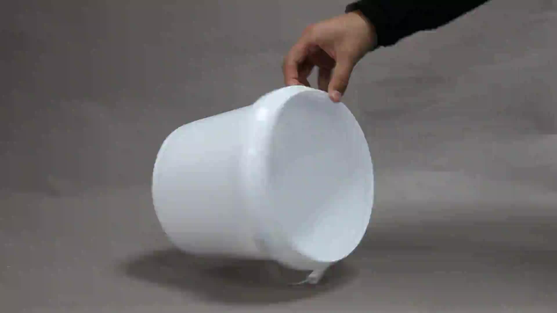 دلو بلاستيكي لحفظ الطعام سعة 15 لتر للطلاء