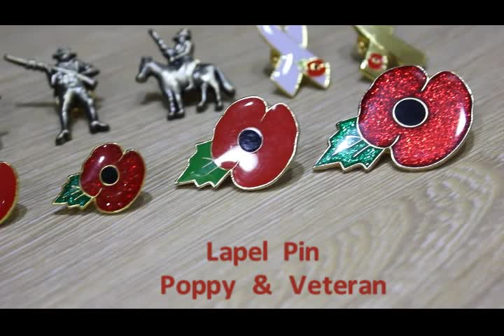 Wholesale custom royal british legion red flower poppy lapel pin wholesale custom royal british legion red flower poppy lapel pin badge for armistice day mightylinksfo