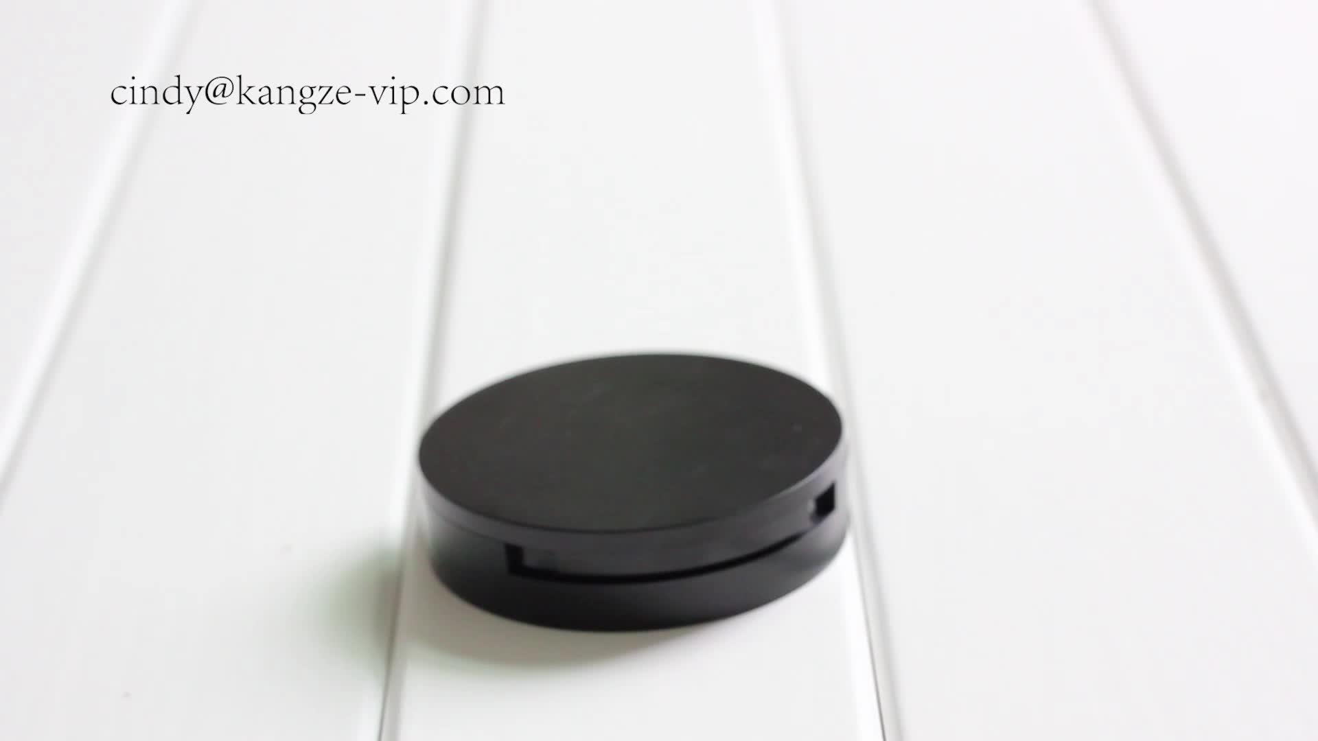 Amostra grátis OEM/ODM Bom preço para vazio blush rosto compacto 58mm pó compacto caso