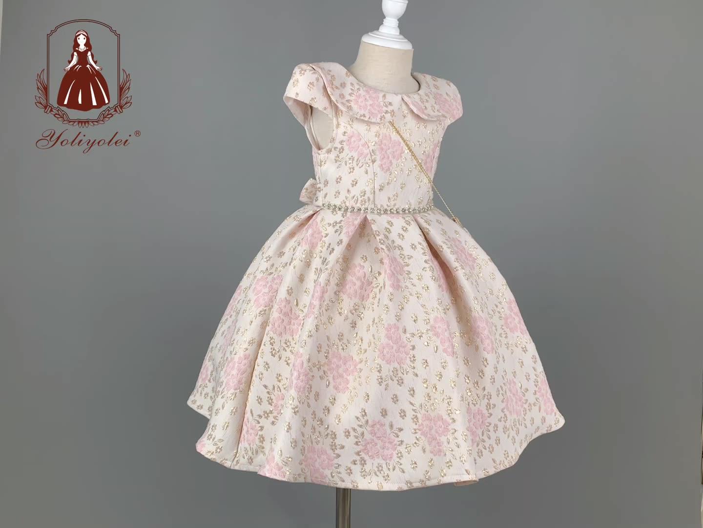 New spring easter dress girl dress delivery bag